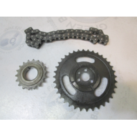 0913267 0913272 0913273 OMC Cobra GM 4.3 5.0 5.7 V6 V8 Timing Chain & Sprocket