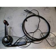 OMC Cobra Sterndrive Throttle Shift Remote Control Box W/Trim 12' Cables