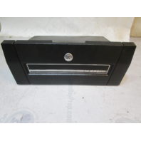 "1989 Forester Phantom 166 Boat Marine Dash Glove Box Storage Black 13.5"" x 5.5"""