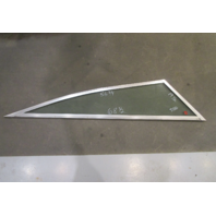 "Boat Triangle STBD Right Window Glass Aluminum Frame 68 1/2"" x 56 3/4"" x 19 1/2"""