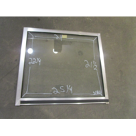 Marine Boat STBD Right Side Windshield Front Window 25.25 x 24 x 22.25 x 21.5