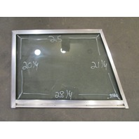 Marine Boat STBD Right Side Windshield Front Window 28.25 x 25 x 21.25 x 20.25