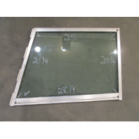 Marine Boat Port Left Side Windshield Front Window 28.25 x 25 x 21.25 x 20.25