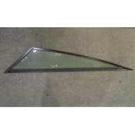 "Boat Triangle Port Left Window Glass Aluminum Frame 70 1/4"" x 58 1/2"" x 19 1/4"""