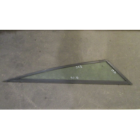 "Boat Triangle STBD Right Window Glass Aluminum Frame 70 1/4"" x 58 1/2"" x 19 1/4"""