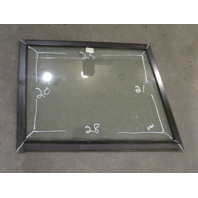 Marine Boat STBD Right Side Windshield Front Window 28 x 25 x 21 x 20