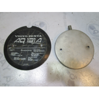 824701 Volvo Penta AQ131A 4 CYL Stern Drive Flame Shield Cover 841540