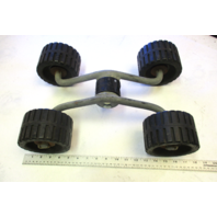 Marine Boat Trailer Wobble Roller Assembly