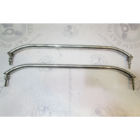 "1990 Chaparral 1900 SL Boat Rear Stern Rail Grab Bar Handle Set 24"" Long"