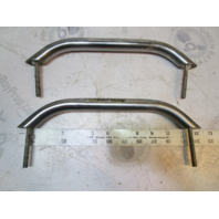 "1995 Wellcraft Excel 215X Stainless Steel Grab Handle Bar Railing Set 12 1/4"""