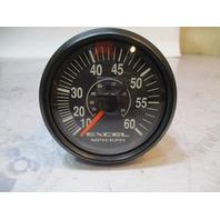 SE9723A WellCraft Excel Faria Marine 10-60 MPH Speedometer Black Bezel Gauge
