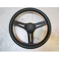 "13"" Glastron Marine Boat 3 Spoke Plastic Steering Wheel Black 3/4"" Tapered Shaft"