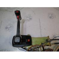Hi-Lex Boat Throttle Remote Control W/ Trim/Tilt  & 12 ft Mercruiser Cables