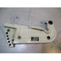 0392203 White Johnson Evinrude Outboard Port Transom Bracket