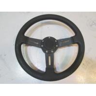 "Teleflex Marine 12 3/4"" Black Boat Steering Wheel 3 Spokes 3/4"" Shaft"