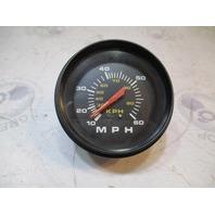 "Quicksilver Speedometer 10-60 MPH Pitot Tube Gauge 3 3/4"""