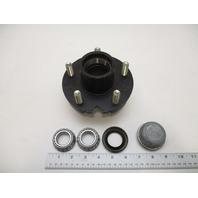 "BT-150 5 Hole/Bolt on 4.5 Pattern Trailer Wheel Hub With 1"" I.D. Bearings"