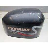 0285252 OMC Evinrude Ficht Blue Top Engine Motor Cover Cowling Hood 150 175 Hp