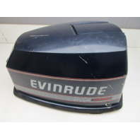 Evinrude Johnson 90 HP V4 VRO Blue Motor Cowl Engoine Cover Top Cwling Hood
