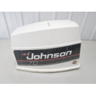 0435727 Johnson Evinrude 70 HP VRO 3 Cyl Motor Cowl Engine Cover Cowling Hood