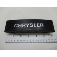 """Vintage Chrysler Boat Steering Wheel Center Hub Cap Insert 6"""" X 1 5/8"""""""