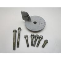 327640 Evinrude Johnson 6 Cyl Lower Unit Gearcase Bolts & Trim Tab