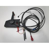 175943 OMC/Evinrude/Johnson Remote Control W/Trim 17' 10 Pin Red & 14' Cables