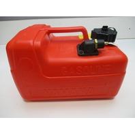 6YL-24201-24-00 Yamaha Plastic Red Remote Portable Marine Gas Tank 3 Gallons