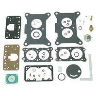 HOLLEY 2 BARREL CARBURETOR KIT OMC MARINE 987317 3854106