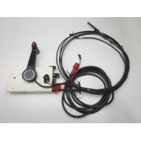 0397183 OMC/Evinrude/Johnson Remote Control W/Trim 17' 10 Pin Red & 14' Cables