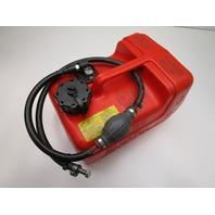 Honda Marine Outboard 12L 3 Gallon Red Plastic Portable Remote Gas Fuel Tank
