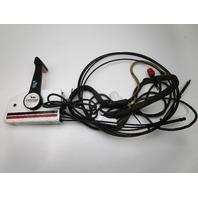 0391043 OMC/Evinrude/Johnson Remote Control W/Trim 17' 10 Pin Red Plug 12' Cable