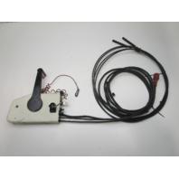 0397184 OMC Evinrude Johnson Remote Control 17' 10 Pin Red Plug 14' Cables