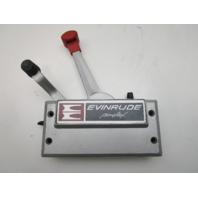 OMC Evinrude Johnson Simplex 2 Lever Side Mount Remote Control Throttle Shift