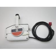 OMC Johnson Command Center Remote Control Throttle Shift Box 17' 10 Pin Red Plug