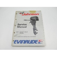 507753 1989 Evinrude Johnson Outboard Service Manual 3-8 HP CE Colt Junior
