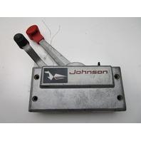 Evinrude Johnson Ship-Master Side Mount Dual Lever Throttle/Shift Remote Control