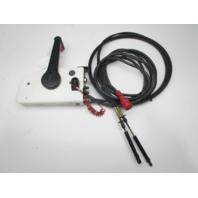 0432718 OMC Evinrude Johnson Remote Control 17' 10 Pin Red Plug 13' Cables