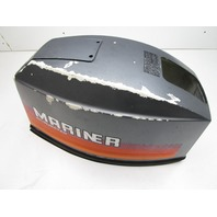 9370M Mariner 30 Hp 2 Cyl Outboard Top Hood Cap Cowl Cowling Manual Start