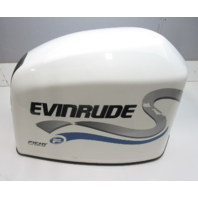 0285258 Evinrude Ficht 200 225 HP White Top Engine Motor Cover Cowling Hood 1999