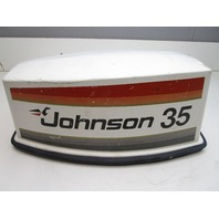 388736 Johnson Outboard 35 HP Top Cowl Motor Engine Cover Electric Start 1978