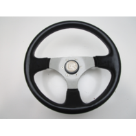 "Glastron GS 185 DINO Black 3 Spoke Marine Boat Steering Wheel 12.5"""