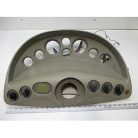 1996 Glastron Boat GS 185 Instrument Dash Panel Tan