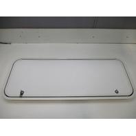 "Marine Boat Lockable White Access Hatch Door Panel 43 1/4"" X 17 1/8"""