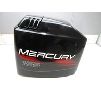 828354A8 Black Top Cowl for Mercury Mariner Outboard Upper Cowling 100-125 HP