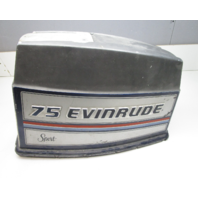 0281453 Evinrude 75 Sport Outboard Engine Top Motor Cover Cowl 1980