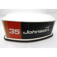 0386925 1976 Johnson Evinrude 35 HP Top Engine Cover Motor Cowl Hood 386925
