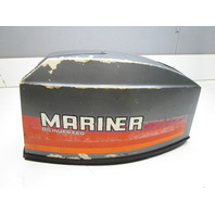 9370M Mariner 30 Hp 2 Cyl Outboard Top Hood Cap Cowl Cowling Manual Pull Start