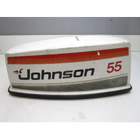 389307 Top Engine Cowl Motor Cover for Johnson Sea Horse 55 Hp Outboard