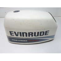 0284795 Evinrude 9.9 Hp 4-Stroke White Engine Cover Cowling Top Cowl